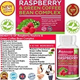 #1 Raspberry Ketones and Green Coffee Bean Complex Combo plus Glucomannan ★A Powerful combination that breaks down belly fat FAST ...