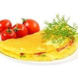 7 Omelettes méditerranéenne protéinées - Régime protéiné