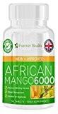 African Mango 6000 * LEPTINE Brûleur de Graisse * Pilules Amincissantes Mangue Africaine Diète Brûleur de Graisses Pour la Perte ...