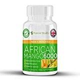 African Mango 6000 * LEPTINE Brûleur de Graisse * Pilules Amincissantes Minceur Mangue Africaine Maigrir Diète Brûleur de Graisses Pour ...