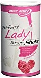 Best Body Nutrition Premium Perfect Lady Beauty Shake 450g boîte Framboise Yoghourt