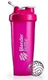Blender Bottle Classic Loop - Protéine Shaker / Bouteille d'eau avec poignée de transport rose 940ml