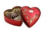 Boîte pour chocolats en forme élégante du cœur