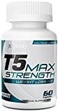 Brûleurs de Graisse T5 Max Strength | Les Meilleures Pilules Amincissantes Super Puissantes | Les Pilules de Régime de Perte ...