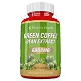Café Vert Green Coffee Bean TRES FORTE 6000mg 120 Pilules - Perdez jusqu'à 4.5 Kilos en 4 Semaines! PLUS + ...