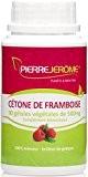 Cétone de Framboise - 100% Minceur / Brûleur de graisses - 90 gélules végétales de 500mg - Pierre Jérôme®