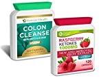 Cétone Framboise PURE Raspberry Ketone + Colon Cleanse ALOE VERA * LIVRAISON GRATUITE * Super FORT 1000mg - Diète Perdre ...