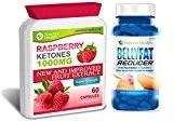 Cétone Framboises PURE Raspberry Ketone PLUS Belly Fat Reducer - TRES FORTE Ketone 1000mg Comprimé De Régime - Réduire la ...