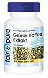 Extrait de café vert 500mg - avec 45% d'acides chlorogéniques - 180 gélules - sans additifs