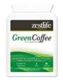 Extrait de café vert plus grande force 5000mg 60 Capsules | Minceur / Régime / Perte de poids pilules