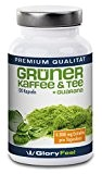Extrait de café vert, thé vert et guarana - Formule à haute dose de café vert + thé vert + ...