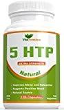 Extrait de Griffonia 5-HTP - Naturel, 120 Gélules Végétariennes de le 5-HTP 100mg Aide à Améliorer Les Niveaux de Mélatonine ...