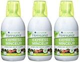 Floressance cocktail Express minceur 500ml Lot de 3
