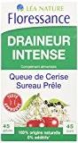 Floressance Phytothérapie Elimination Végétale Draineur Intense Queue de Cerise / Sureau / Prêle 45 Gélules Lot de 3