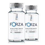 FORZA Raspberry Ketone 2:2:1 (2 Bottles) - Natural Diet Pills with Pure Raspberry Ketones - 180 Capsules