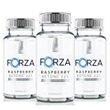 FORZA Raspberry Ketone 2:2:1 - Natural Diet Pills - 270 Capsules