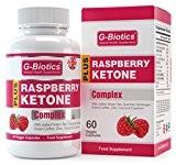 G-Biotics Cétone de Framboise Naturelle ~ Supplément EXTRA HAUTE QUALITE Avec Ajout d'extrait de thé Vert, Extrait de Café Vert, ...