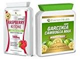 Garcinia Cambogia MAX * PURE WHOLEFRUIT 120 Pilule + Cétone Framboise PUR Raspberry Ketone SUPER FORT Diète Perdre Du Poids ...