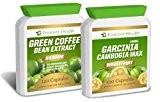 Garcinia Cambogia MAX * PURE WHOLEFRUIT 120 Pilules + Extrait de Grain de Café Vert Green Coffee Bean Extract TRES ...