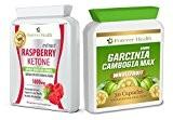 Garcinia Cambogia MAX * PURE WHOLEFRUIT 30 Capsules Diète + Raspberry Ketone Cétone Framboise PURE SUPER FORT Diète Perdre Du ...
