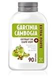 Gélules Minceur de Pure Garcinia Cambogia + Café Vert Extra Forte 1 Mois (90 gélules) pour Retrouver Une Silhouette Parfaite