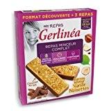 Gerlinéa - Barres Repas Minceur Vanille Noisettes Chocolat Lait - Gerlinéa