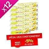 Gerlinéa - Biscuits de régime saveur vanille citron - Gerlinéa Carton ECO X 12
