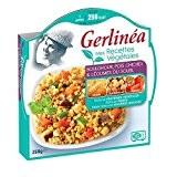 Gerlinéa - Mes recettes végétales boulghour, pois chiches & légumes du soleil Gerlinéa