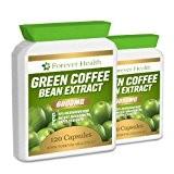 Grain De Café Vert Green Coffee Bean TRES FORTE 6000mg 240 Pilules - Perdez jusqu'à 4.5 Kilos en 4 Semaines! ...