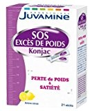 Juvamine SOS Excès de Poids Konjac 21 Sticks