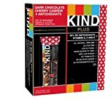 KIND Barre de céréales au chocolat noir, à la cerise et aux noix de cajou - Riche an antioxydants - ...