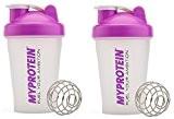 Lot de 2 - MyProtein Max Elle Mini Shaker bouteille