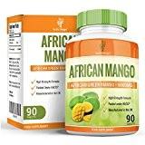 Mangue Africaine - 6000mg Extrait Pure de Irvingia Gabonensis - Complément de Mangue Verte à Dosage Maximum pour Hommes et ...