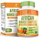 Mangue Africaine Complexe - 1000mg avec Cétones de Framboise, Piment, Café Vert, Glucomannane - Complément à Dosage Maximum pour Hommes ...
