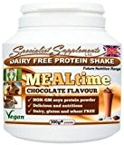 MEALtime: dairy free protein powder Chocolate (300g tub powder)