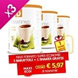 Minceur D - Boisson Cacao en Pot ECO + 1 shaker offert - LOT DE 3