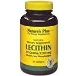 Nature s plus - Lécithine soja 1200 - 90 capsules - élimine les mauvaises graisses