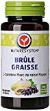 Naturesystem Brûle-graisse L-carnitine, Marc de Raisin, Papaye 34 g