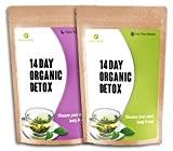 NUTRIENT WISE-Thé Détox Vert Organique -thé minceur- Détoxification de l'organisme Reducteur d Appetit