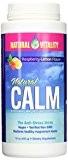 Peter Gillham's Nat Vitality Boisson anti-stress Natural CALM - Complément de magnésium relaxant - Apport équilibré de calcium - Framboise-citron ...