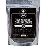 Poudre de Charbon Actif par Moody Zook - Volume de Carbone de Noix de Coco Naturel de Qualité Supérieure - ...