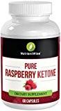 Pure Raspberry Ketones Plus - Complément alimentaire Nutrient Wise - Capsules très efficaces pour la perte de poids - Bloquent ...
