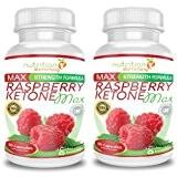 Raspberry Ketone Max (2 mois) OFFRE EXCEPTIONNELLE- cétone framboise Nutrition Slimming - le supplément de perte de poids qui contribue ...