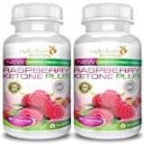 Raspberry Ketone Plus (2 mois) - cétone framboise de Nutrition Slimming - Flacon de capsules de cétone de framboise avec ...