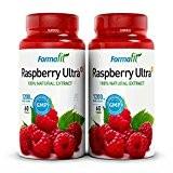 Raspberry Ketone Ultra+ 1200mg (2 bouteilles x 60 gélules) Approvisionnement de 60 jours - supplément de perte de poids