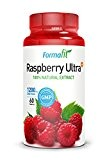 Raspberry Ketone Ultra+ 1200mg (60 gélules) - Nouvelle formule - Approvisionnement de 30 jours - supplément de perte de poids