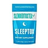 Slendertoxtea - 14 jours de régime nuit détox - thé minceur, bruleur de graisse, perte de poids
