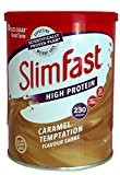 SlimFast Caramel Temptation Flavour Shake Powder 438g, Pack of 3
