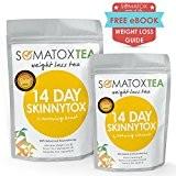 SOMATOX 14 JOURS SKINNYTOX Thé ultime pour la Détox Avec Garcinia Cambogia ★ Thé pour la perte de poids • ...