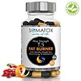 SOMATOX T5 FAT BURNER - Perte de poids naturelle • Brûleurs de graisse • Minceur ilules amaigrissantes • Stimulation énergétique ...